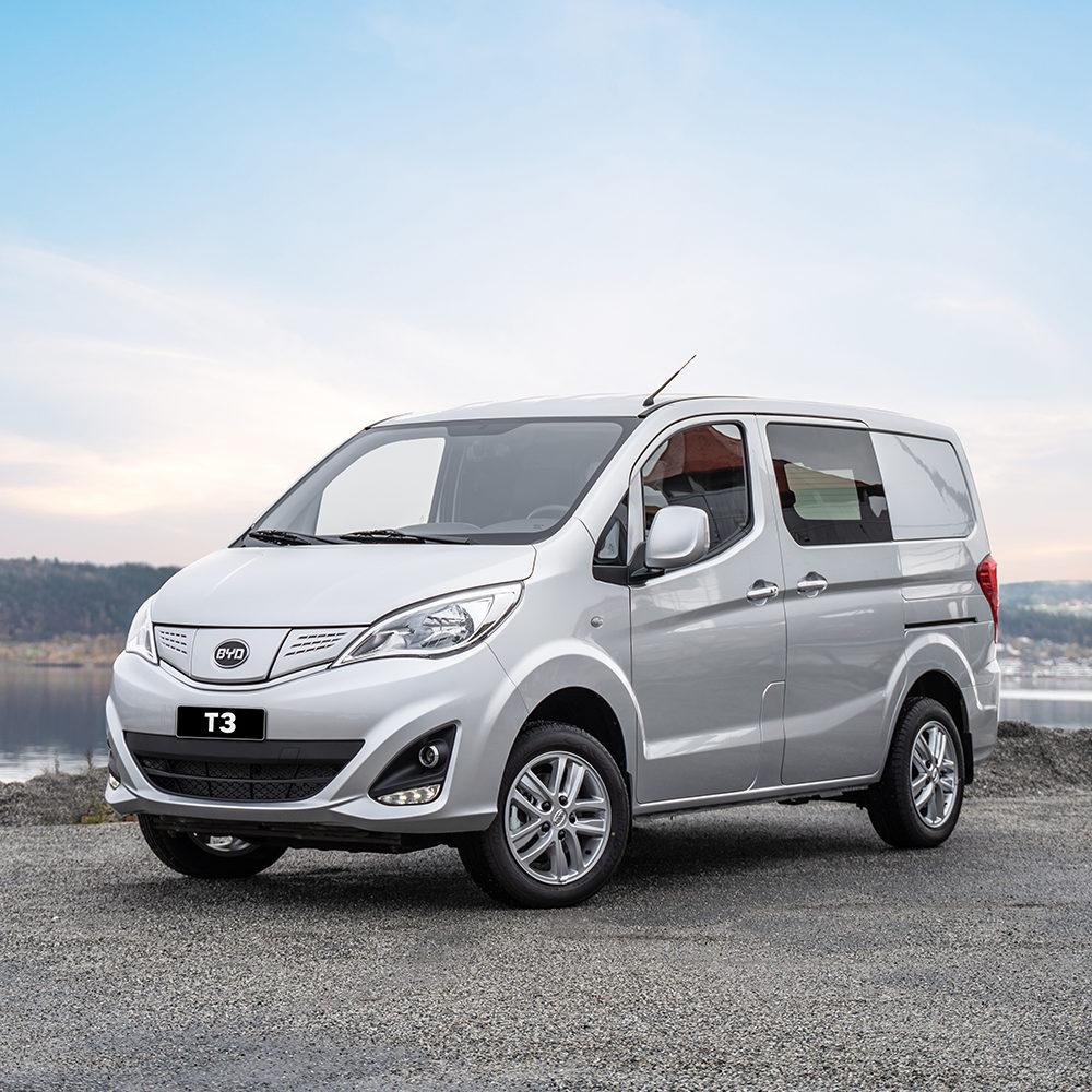 BYD T3 – Ny elektrisk varebil!