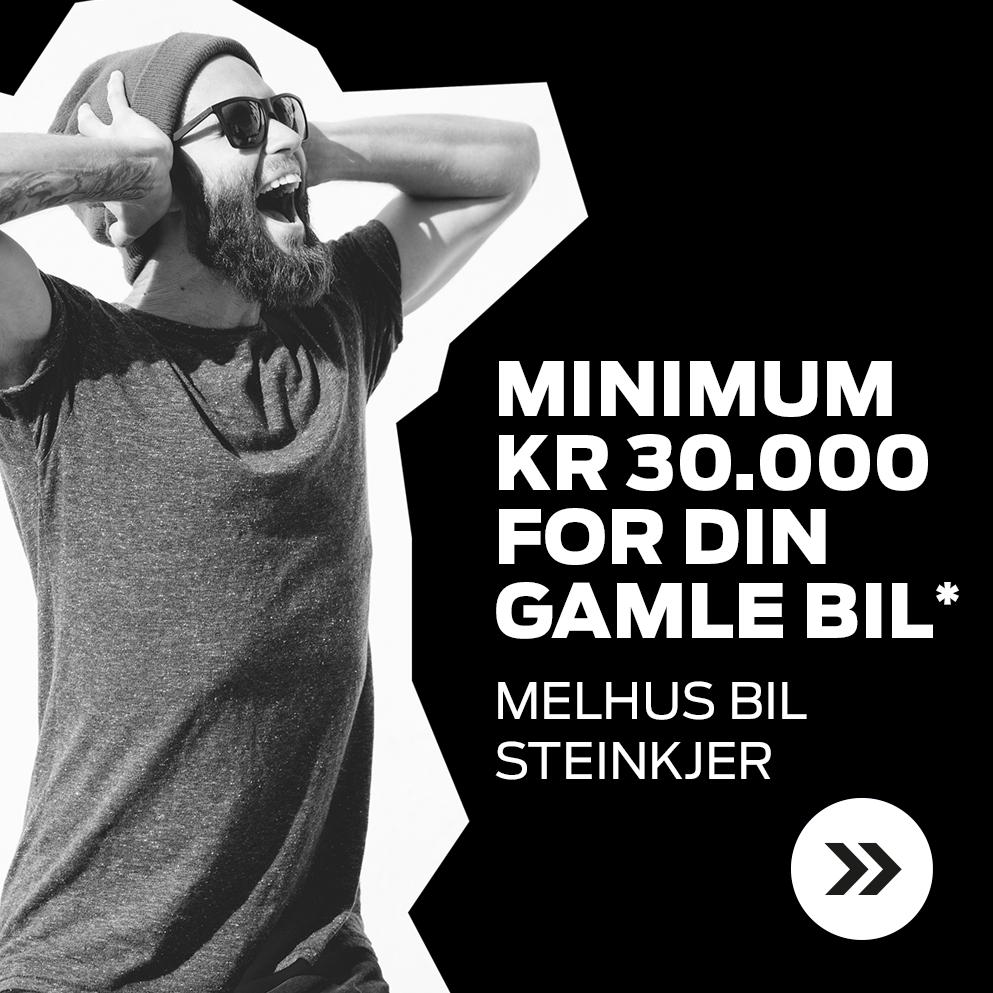 Minimum kr 30.000 i innbytte
